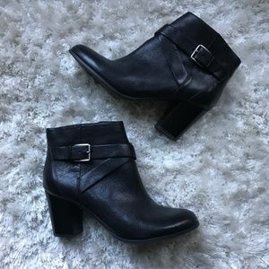 Cole Haan Leather Ankle Boots Sz 8.5
